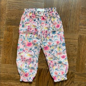 Zara baby girl pants